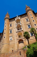Urbino, Ducal Palace, Palazzo Ducale, Marche, Italy, Europe, UNESCO World Heritage site