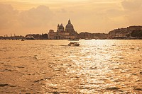 Italy, Veneto, Venice, Old town, Canal in the evening
