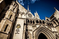 The Royal Courts of Justice, commonly called the Law Courts, is a court building in London which houses both the High Court and Court of Appeal of Eng...