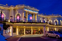 Europe, France, Deauville, Normandy, Cote Fleurie Casino Night