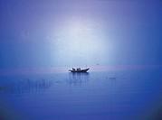 Fishing Boat, Orissa, India.