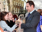 Britain's Got Talent Press Launch at St Luke's Church, Old Street, London Featuring: David Walliams Where: London, United Kingdom When: 09 Apr 2014 Cr...