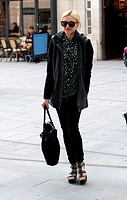 Fearne Cotton arrives at Radio 1 Featuring: Fearne Cotton Where: London, United Kingdom When: 15 Apr 2014 Credit: WENN.com
