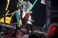 One Direction kick off 'Where We Are Tour' in Sunderland Featuring: Liam Payne,Zayn Malik Where: Sunderland, United Kingdom When: 28 May 2014 Credit: ...