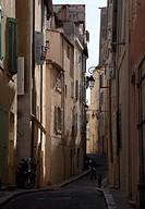 Marseille, Gasse in der Altstadt