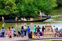 Bethesda Landscape Terrace, Central Park, New York City, Manhattan, USA.