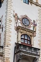 Romania, Transylvania, Sinaia, Peles Castle, built 1875-1914.