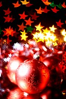 holiday gifts background warm stars