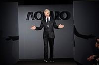01/02/2015 Roma. AltaRoma Altamoda sfilate. Sfilata di Gianni Molaro, nella foto lo stilista.