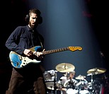 American rock band Linkin Park perform at the Ziggo Dome on their 'The Hunting Party Tour' Featuring: Brad Delson,Linkin Park Where: Amsterdam, Nether...