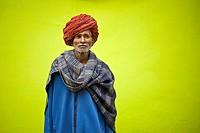 India, Rajasthan, Pushkar, portrait.