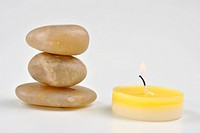 three stone and a candle makes calm