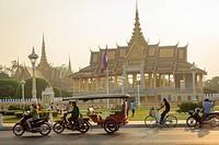 The Royal Palace, Phnom Penh, Cambodia.