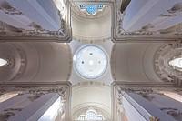 Interior of the Collegiate Church, Salzburg, Salzburg State, Austria