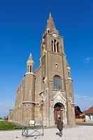 Eglise Notre Dame de Bon Secours church, Côte d'Albatre, Haute-Normandie, France