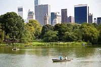 Central Park, Manhattan, New York, USA, America.