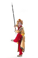 The main characters in the opera Monkey King