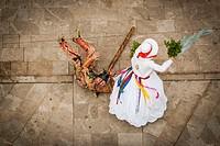 cossiers dancing, Majorcan folk dancing, Algaida, Mallorca, Balearic Islands, Spain.