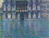 Palazzo Contarini. Artist: Monet, Claude (1840-1926)