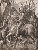 Knight, Death and the Devil. Artist: Dürer, Albrecht (1471-1528)