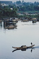 Vietnam, Hue, Perfume River. (Large format sizes available)