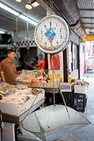 Fish market, Chinatown, New York City, NY, USA.