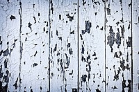 Background of old wood boards with peeling paint