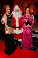 Ein Herz fuer Kinder 2014 at Flughafen Tempelhof - Aftershowparty Featuring: Ruth Moschner,Santa Claus,Rebecca Immanuel Where: Berlin, Germany When: 0...