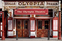 Facade of the Olympia Theatre built in 1879.