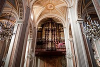 Organ Of The Cathedral, Morelia, Michoac