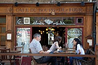 Cafe Boug de Four, Geneva; Switzerland; Europe.