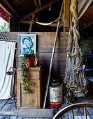 Fisherman cabin, bohuslan region, west coast, Sweden.