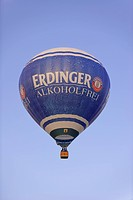 Hot air balloon, Erdinger, balloon festival 2015, Rust, Baden Württemberg, Germany