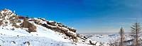 Russian rockies panoramic