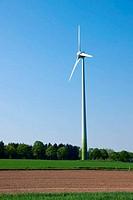 Windwheel in the fields