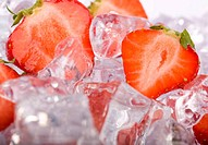 Ice Strawberries