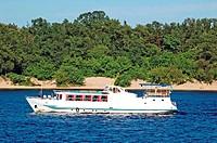 Motor travel river ship