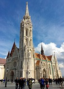 Matthias Church Hungarian: Mátyás-templom, Budapest