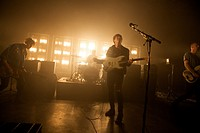 Circa Waves perform live at O2 Shepherd's Bush Empire, London, United Kingdom. 17 April 2015.