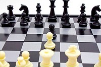 This is starting of chess game.