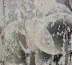 white gray grunge from torn posters