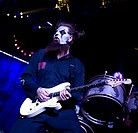 Slipknot perform live in concert during the 'Prepare for Hell Tour 2015' at the Heineken Music Hall Where: Amsterdam, Netherlands When: 01 Feb 2015 Cr...