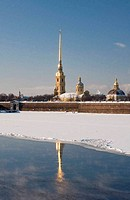 The Peter and Paul Fortress to St.-Petersburg