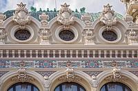 Part Of Rear Facade Casino Monte Carlo Monaco