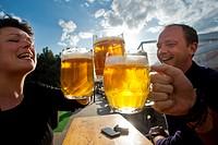 Czech Beer Festival, which last until May 23, in Prague, Czech Republic, May 7, 2015. (CTK Photo/Vit Simanek)
