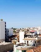 rooftops of Larnaca Cyprus