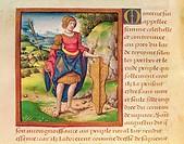 Ms 17 Minerva, from 'Vie des Femmes Celebres', c.1505 (vellum), French School, (16th century) / Musee Dobree, Nantes, France / Bridgeman Images