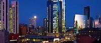 Milano new skyline view. Garibaldi business district in Porta Nuova.