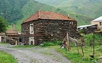 Village, Caucasus Mountains, Georgia