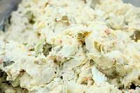 Delicious homemade potato salad